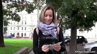 Public Blowjob WIth Sexy Euro SLut For A Few Dollars 09